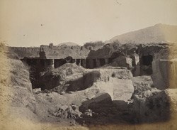 General view of Rock Palace or Khengar's Mahal, Junagadh